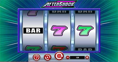 Aftershock spilleautomat start