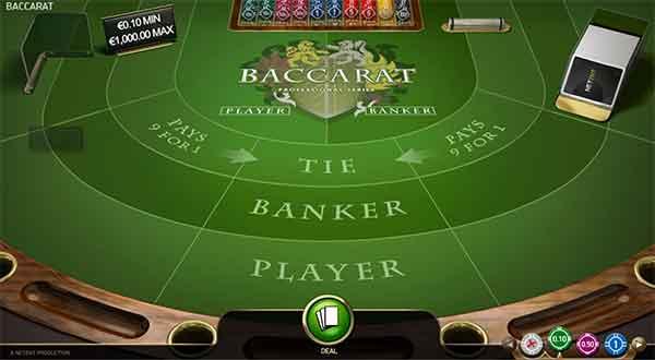 Baccarat Pro spilleautomat