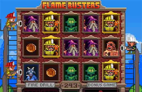 Flame Busters spilleautomat