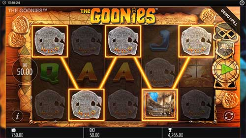 Goonies bonus spilleautomat