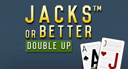 Jacks or Better Double Up video poker