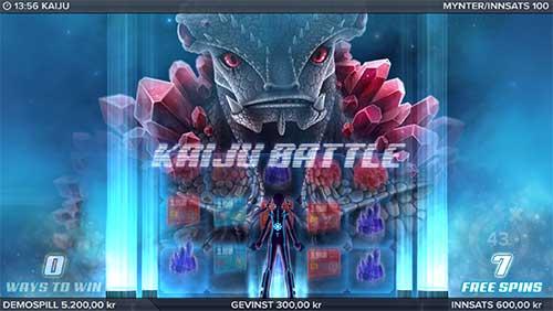 Kaiju Battle freespins