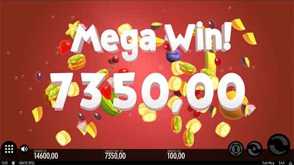 Mega Win Fruit Warp mega gevinst spilleautomat