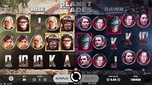 Planet of the Apes spilleautomat