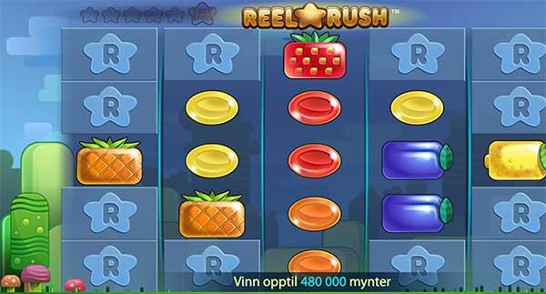 Reel Rush spilleautomat