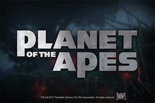 Spilleautomat Planet of the Apes logo
