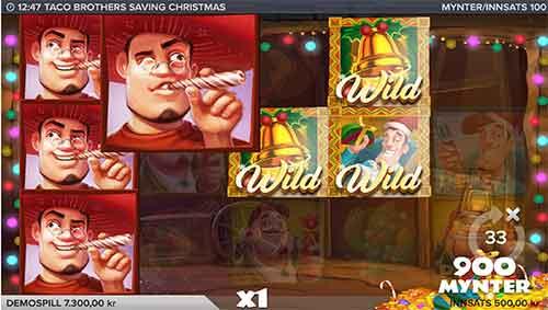 Taco Brothers Saving Christmas freespins