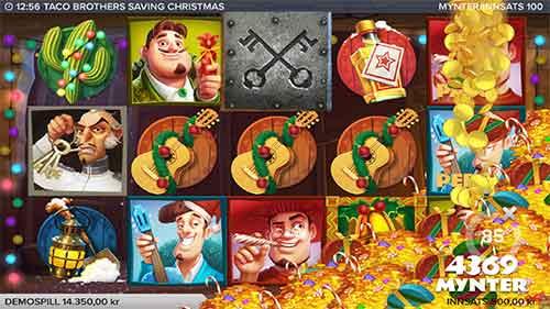 Taco Brothers Saving Christmas megagevinst