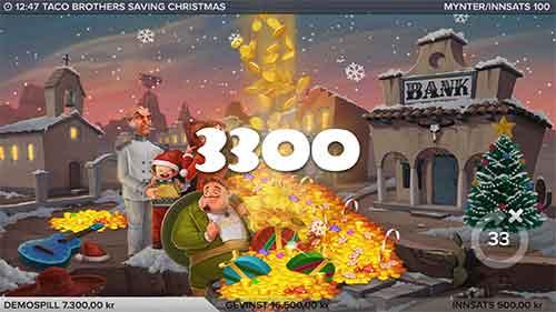 Taco Brothers Saving Christmas storgevinst