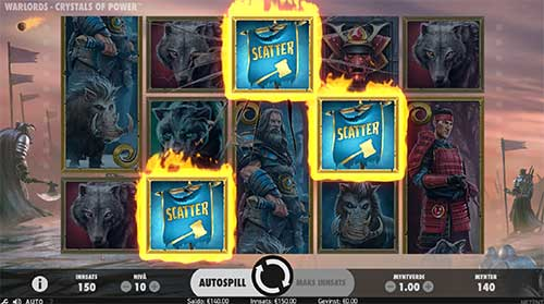 Warlords crystals of power freespins