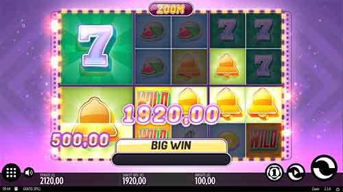 Zoom spilleautomat big win