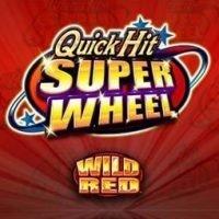 Quick Hit Super Wheel Wild Red logo