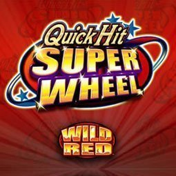 Quick Hit Super Wheel Wild Red logo