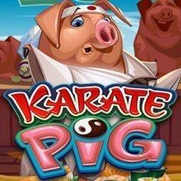Karate Pig spilleautomat