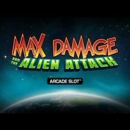 Max Damage and the Alien Attack spilleautomat