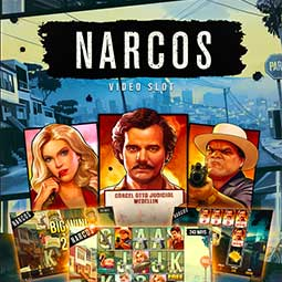 Narcos spilleautomat feature