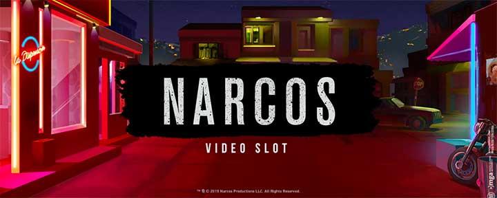 Narcos spilleautomat nyhet