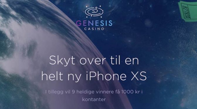 Vinn iPhone XS Genesis Casino