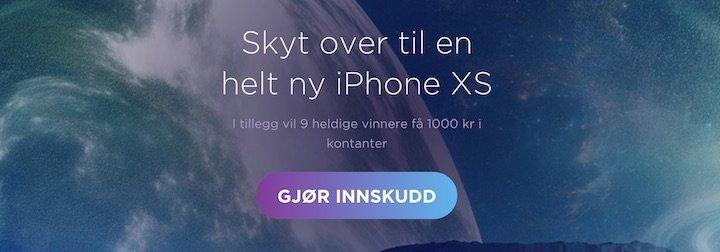 iphone xs konkurranse vinn