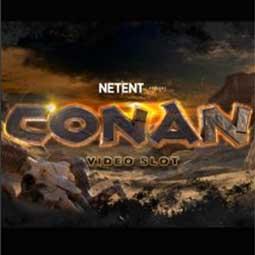 Conan spilleautomat feature