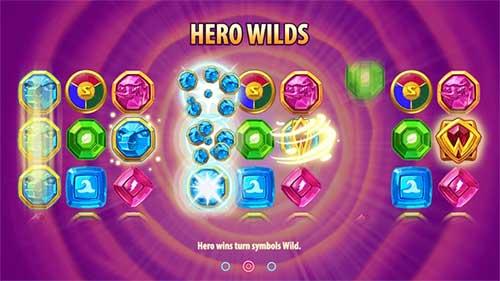 Hero Wilds Wild Worlds spilleautomat