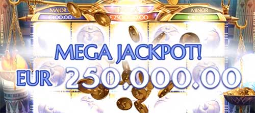 Mega Jackpot Mercy of the Gods spilleautomat