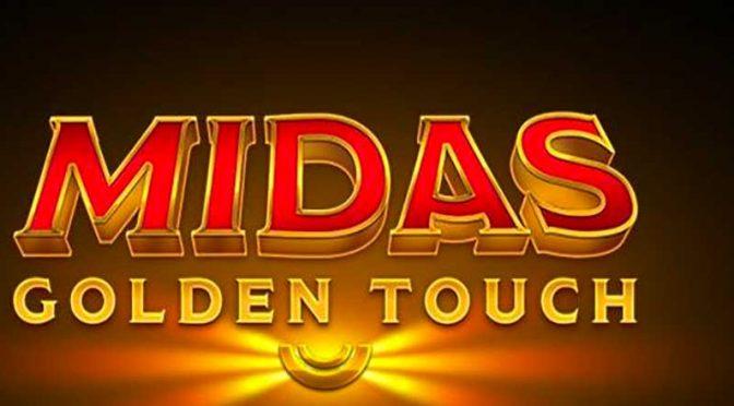 Midas Golden Touch spilleautomat bakgrunn