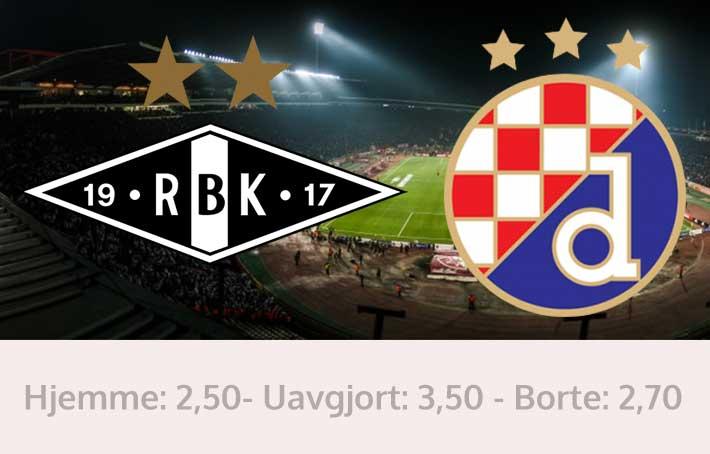 Rosenborg Dinamo Zagreb tips resultat