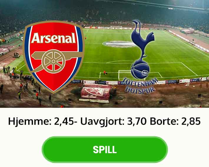 Tips resultat Arsenal Tottenham