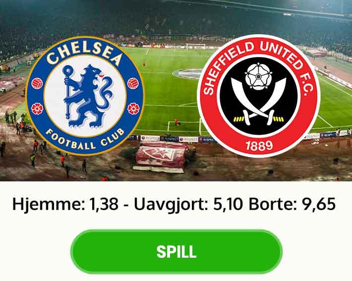 Tips resultat Chelsea Sheffield United