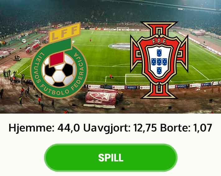 Litauen Portugal odds