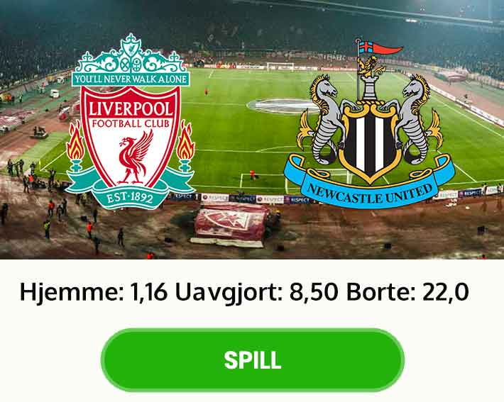 Liverpool Newcastle premier league odds