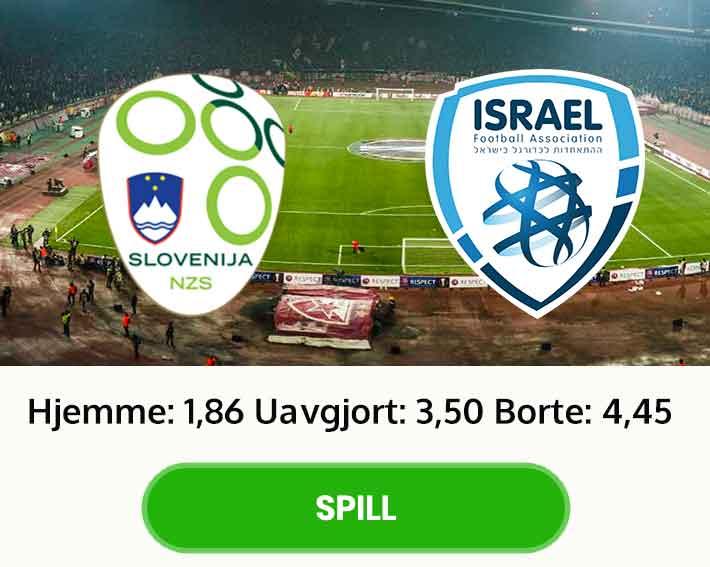 tips odds slovenia israel