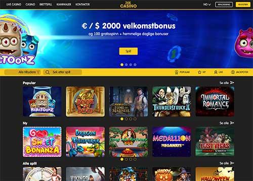 Skjermbilde 24k Casino