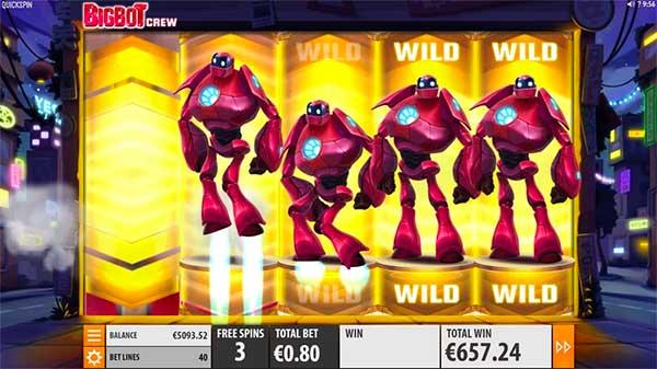 Bigbot wilds spilleautomat