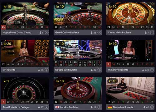 Casino Winner live casino