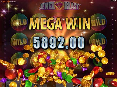 Jewel Blast Megagevinst
