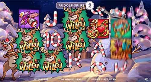 Rudolf Spins Santa vs Rudolf