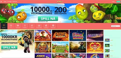 Slotanza Casino screenshot
