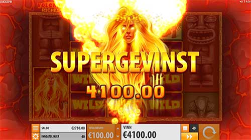 Volcano Riches supergevinst