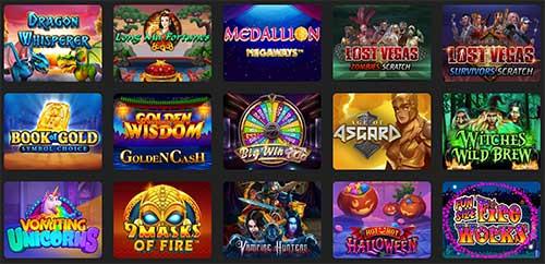 Spillutvalg 24k casino