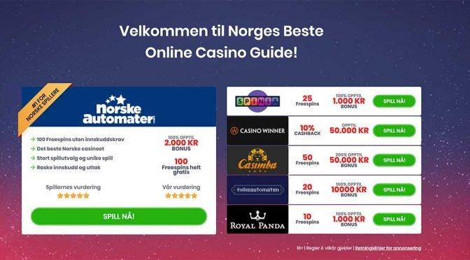 bakgrunn norgescasino