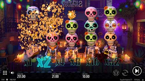 Esqueleto Explosivo 2 eksplosjon