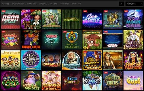 n1 utvalg av spill