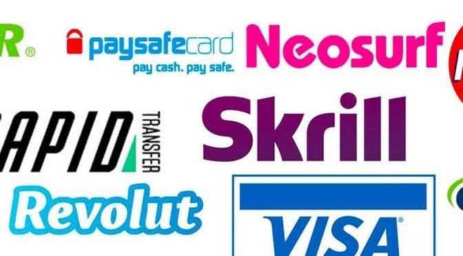 Casino betalingsmetoder Norge