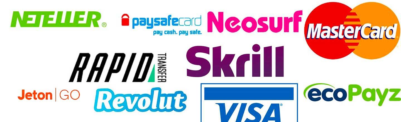Metode pembayaran kasino Norwegia