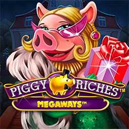 Piggy Riches Megaways forside