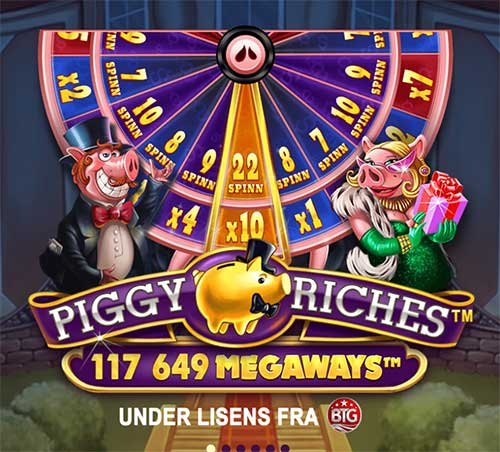 Piggy Riches lykkehjul