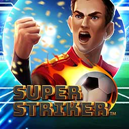 Super Striker logo spilleautomat