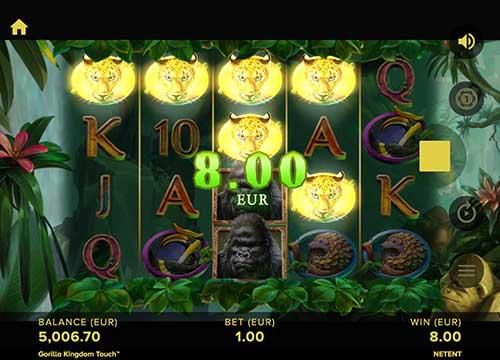 Gorilla Kingdom gevinst